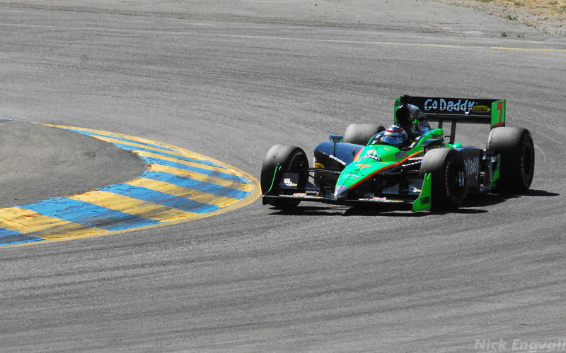 Danica Patrick - IndyCar at Infineon Raceway at Sears Point/Sonoma CA