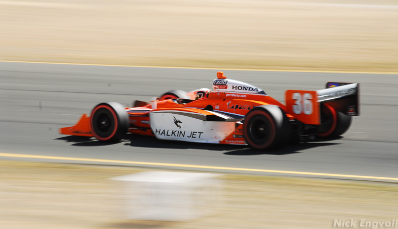 IndyCar at Infineon Raceway – Nick Engvall
