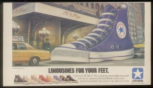 Converse Chuck Taylor All-Star Made in the USA Original Advertisement 1985