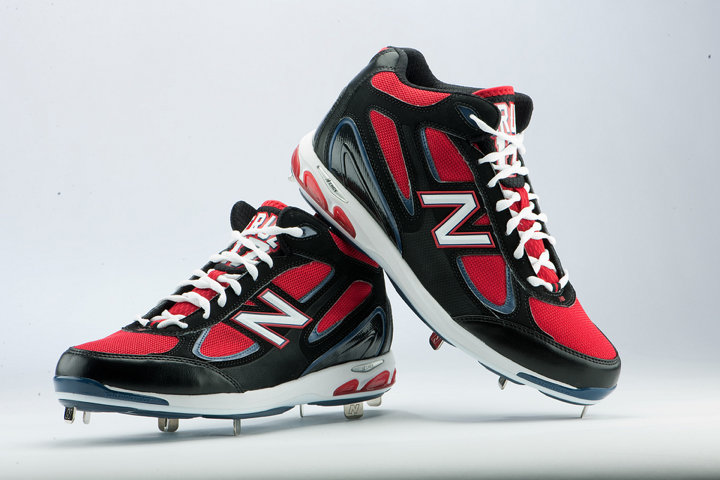 3c0a87e29c106 Best Cleats of the MLB Postseason: Nelson Cruz Player Exclusive New Balance  1103 Black/ · Nelson Cruz blasts one of his 2011 postseason home runs  wearing ...