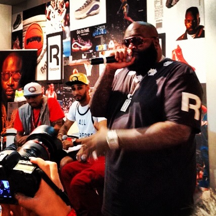 """We're all entrepreneurs."" - Rick Ross"